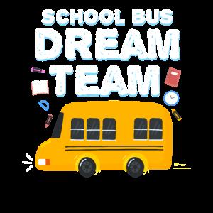 School Bus Dream Team Monitor