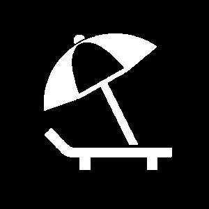 Parasol Icon White
