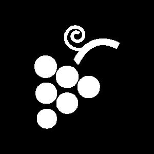 Grape White Icon