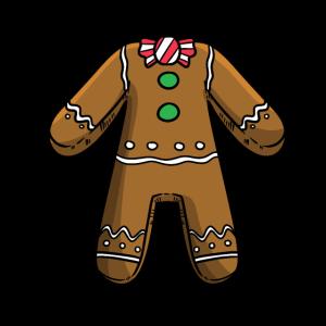 Weihnachten Lebkuchen Körper