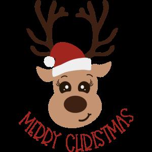 Frohe Weihnachten Rentier