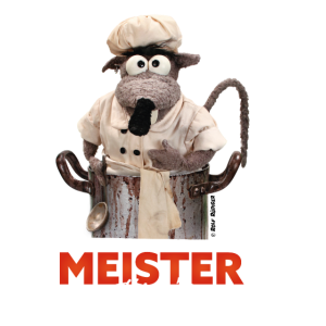 "Rolf Rüdigers Kochschürze ""Meisterköchin"""