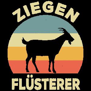Ziegen Flüsterer Landwirt Hirte Bauer Geschenkide