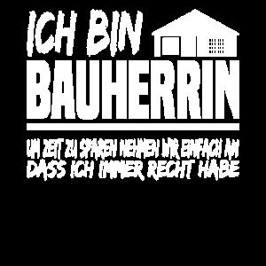 Bauherrin Richtfest Lustig Eigenheim Geschenk