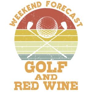 Golf und Rotwein