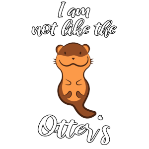 Not like the otters