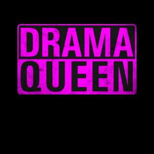 Drama Queen Drama Lama Hysterisch Dramaqueen