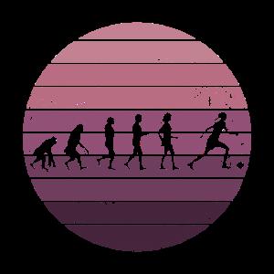 Evolution Frauenfußball Damen Mädchen Fußballerin