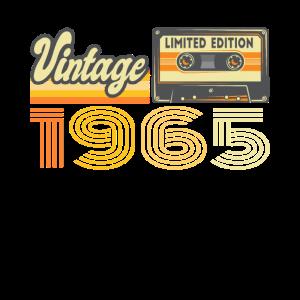 Vintage 1965 Kassette Mixtape - 56. Geburtstag