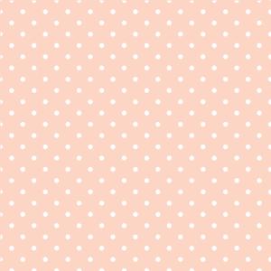 Rosa weiße Tupfen-Muster