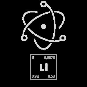 Lithium Molekül Periodensystem elektron