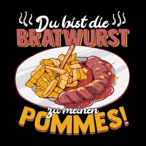 Bratwurst Pommes Liebeserklärung