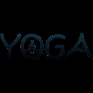 yoga Wort Haltung