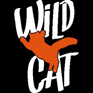 katze silhouette wild cat
