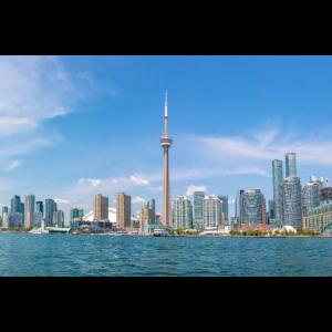 Ontario Toronto Skyline Panoramic View Canada