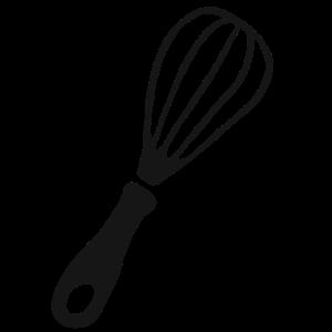 Schneebesen Küche Geschenk Hobbykoch kochen backen