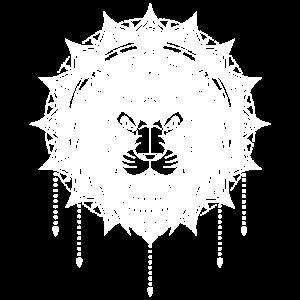 Löwe Mandala