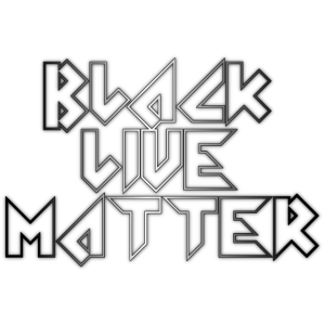 Schwarze lebende Materie