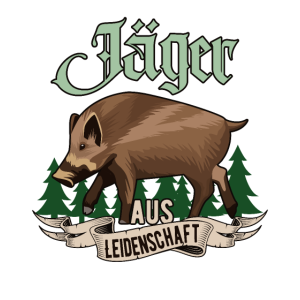 Jäger aus Leidenschaft Wildschwein Jagd Geschenk