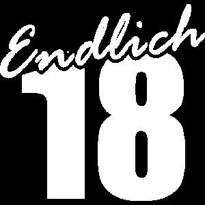 Endlich 18 Geburtstagsspruch