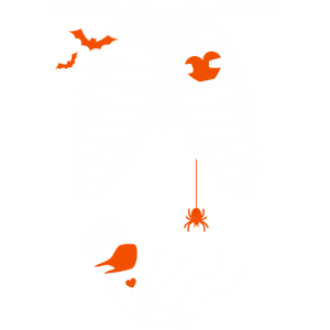 Halloween Schwangerschaft lustig Baby Skelett Frau