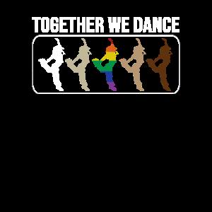 Gemeinsam tanzen wir Hip Hop Breakdance
