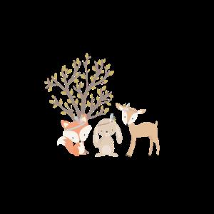 waldtiere mädchen