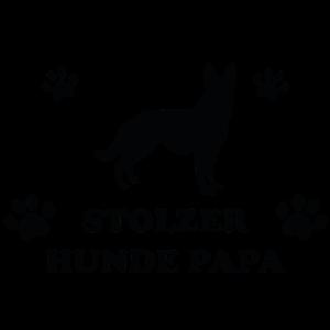 Stolzer Hunde Papa Hundeliebe Geschenk Dog