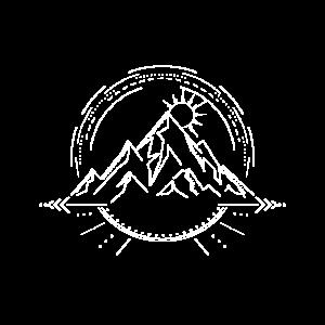 Berge Sonnenaufgang