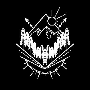 Berge Wald