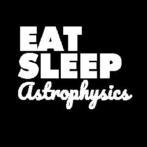 Astrophysik Essen-Schlafen Astrophysik Weltraumfin