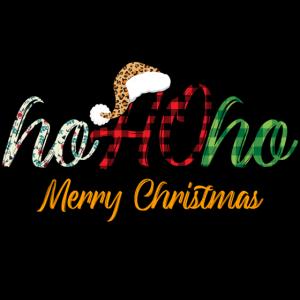 Ho Ho Ho frohe Weihnachten