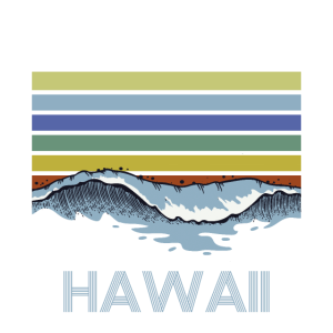 Hawaii Urlaub Ferien Retro