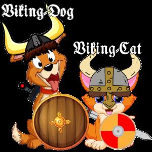 Viking Cat and Dog