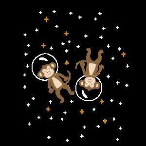Affen Astronauten Weltraum