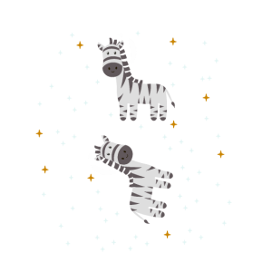 Zebra Astronaut Weltraum