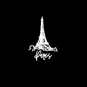Paris Eiffelturm Weiß Frankreich Erstaunliche Stadtliebe