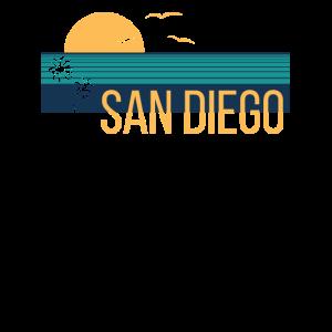 Retro California Surf Vintage Beach Cali 80er Jahre
