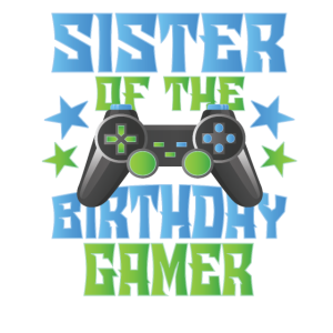 Schwester des Geburtstagsspielers Jungen und Mädchen Bday