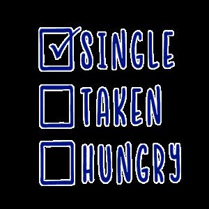 x Single hungrig genommen