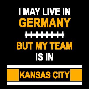 My Team is in Kansas City   Chiefs Fandesign