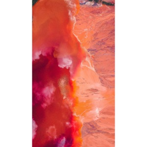 Abstract Art red/orange