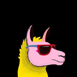No Prob Llama - Lama Alpaka Pop Art