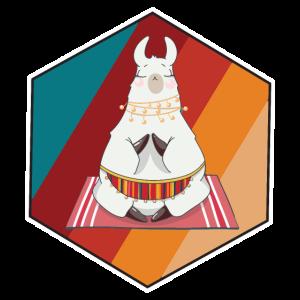 Alpaka Yoga Lama süß