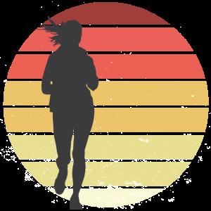 Laufen Joggen Sprinten