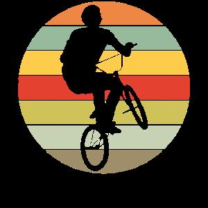 BMX Bike Freestyle Retro Geschenkidee