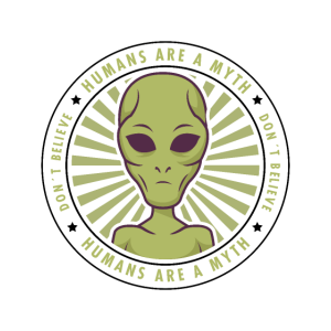 Aliens HUMANS ARE A MYTH