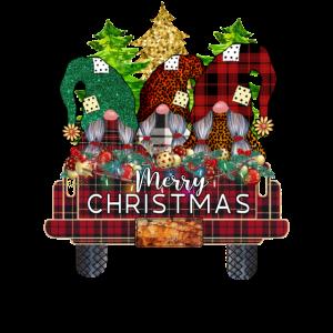 Weihnachtszwerge Frohe Weihnachten