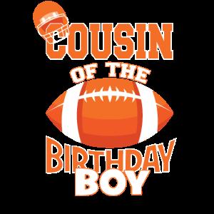 Cousin des Geburtstagskindes American Football Kid