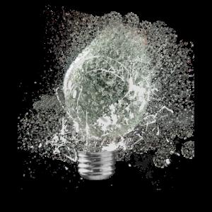 Water Light Bulb explodes